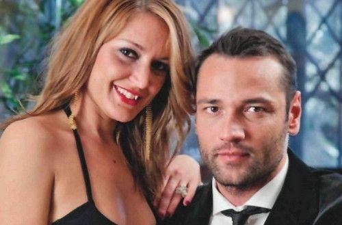 Rocco Pietrantonio e Claudia Boldi Dopo Lory del Santo Rocco Pietrantonio si consola con Claudia Boldi